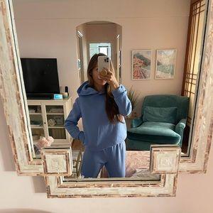Blue Sweat Suit